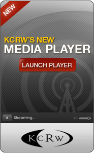 KCRW's New Media Player: Live!